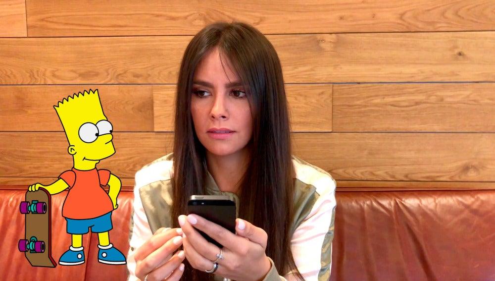 Cristina Pedroche demuestra ser una crack de Los Simpson en el test definitivo