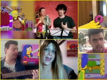 Los concursantes de TCNMST versionan las típicas canciones de Los Simpson