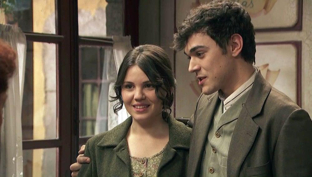 Matías hace público su enlace con Marcela sin haber hablado con Beatriz