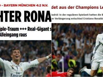 Prensa alemana tras el Madrid-Bayern