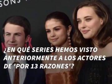 Frame 1.8839 de: ¿En qué series hemos visto anteriormente a los actores de 'Por 13 Razones'?