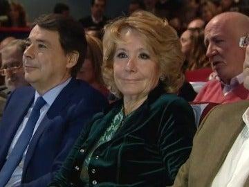 Esperanza Aguirre, en un acto al lado de Ignacio González