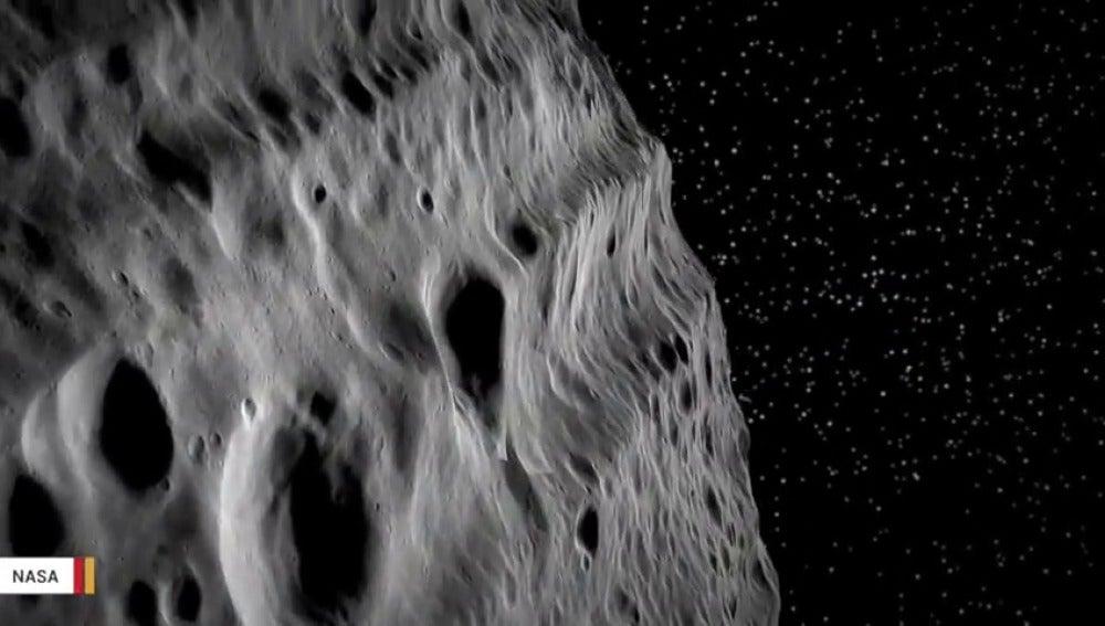 """Frame 9.203713 de: Alerta: Un asteroide """"potencialmente peligroso"""" se acercará a la Tierra el 19 de abril"""