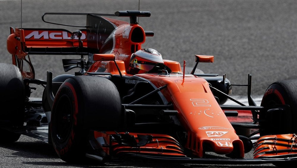 McLaren en los test de Baréin