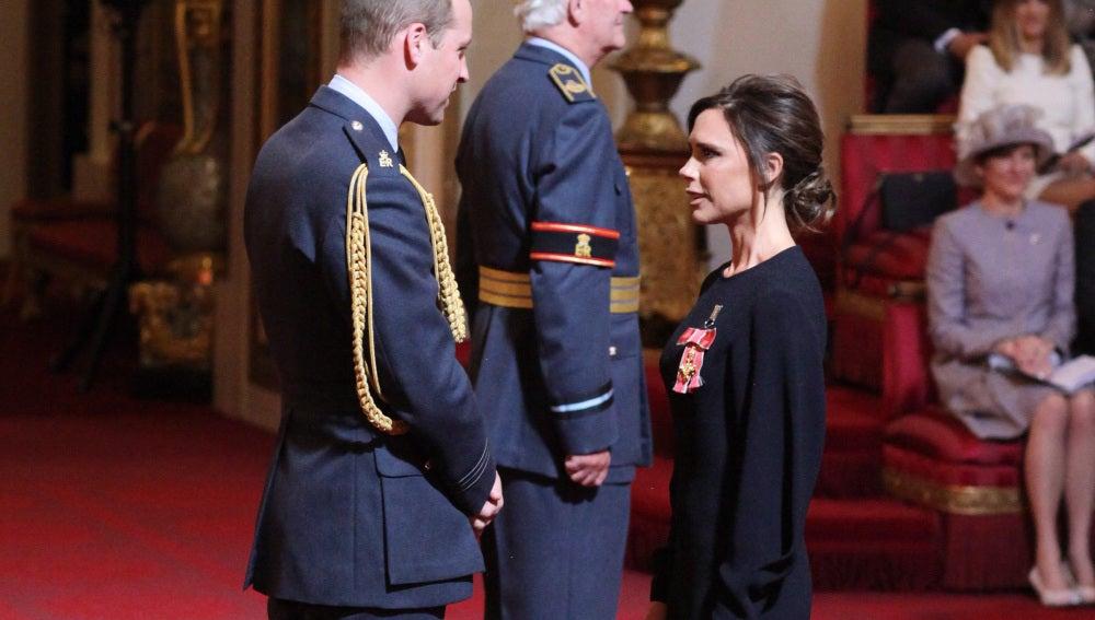 Victoria Beckham y el Duque de Cambridge