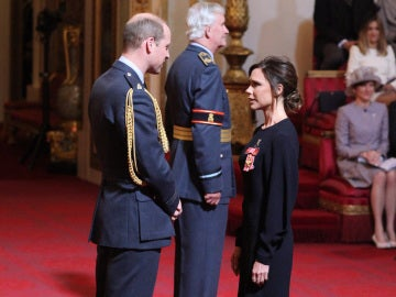 Victoria Beckham y el Duque de Cambridge