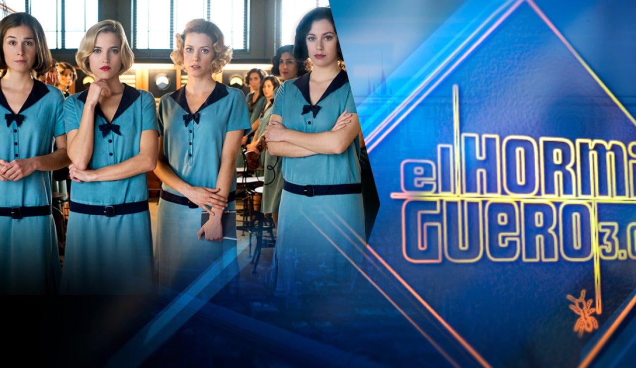 'Las chicas del cable' se divertirán con Pablo Motos en 'El Hormiguero 3.0'