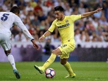 El delantero del Villarreal, Nicola Sansone