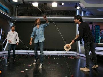 Cómo conseguir que una cuerda cobre vida propia