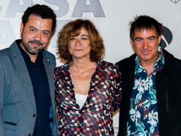 Jesús Colmenar, Sonia Martínez y Álex Pina