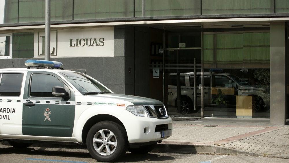 Agentes de la UCO están practicando diversos registros
