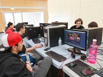 Gamers, imagen de archivo