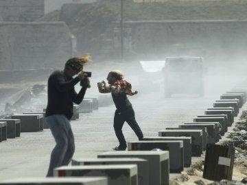 Fuertes rachas de viento en Cádiz provocan más de 330 incidencias