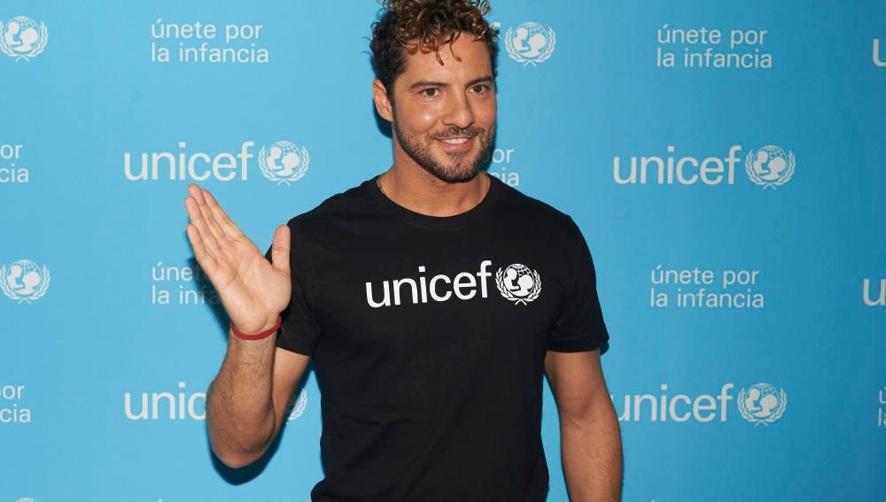 David Bisbal nombrado embajador de Unicef España