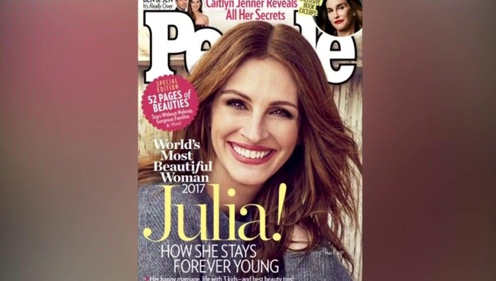 Frame 1.411595 de: Julia Roberts, la mujer más bella del mundo