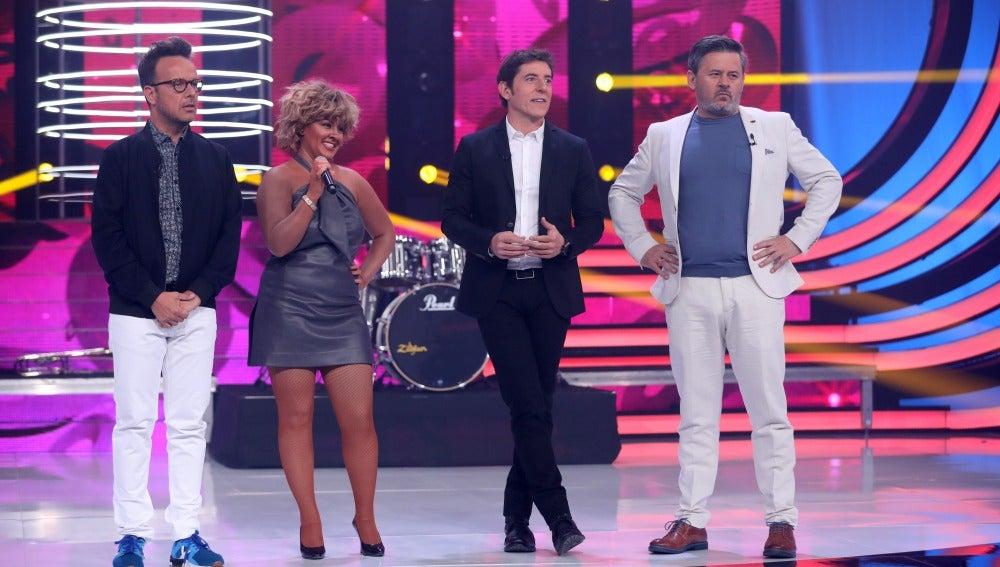 Laura Amorós deja con la boca abierta a Àngel Llàcer tras su actuación como Tina Turner