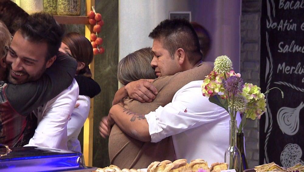 Emoción, lágrimas y alegría cocinando junto a las madres en 'Top Chef'