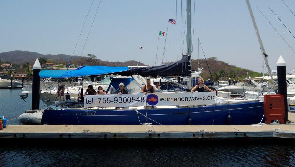 El 'barco del aborto'