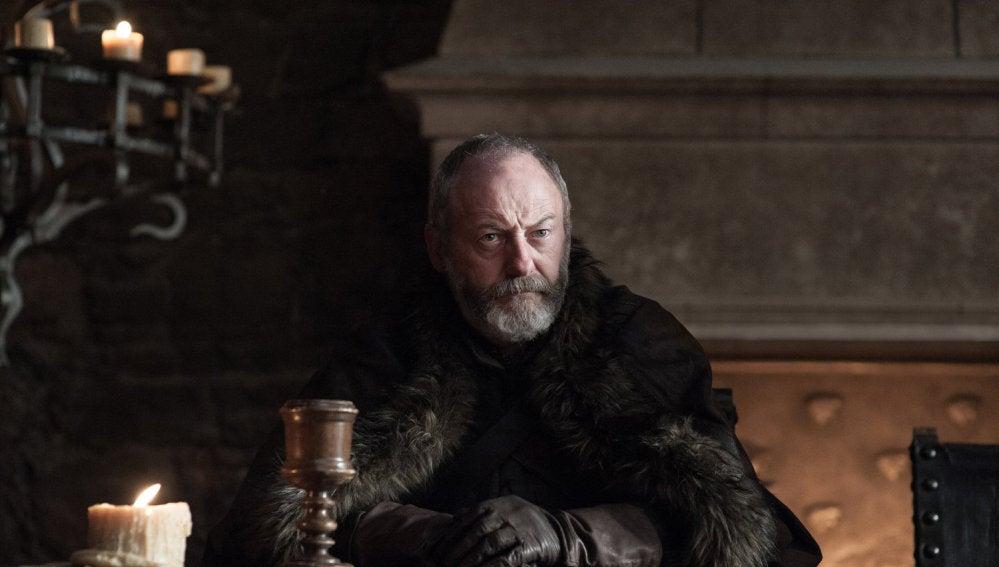 Liam Cunningham como Sir Davos Seaworth en 'Juego de Tronos'