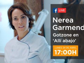 Charla con Nerea Garmendia en directo a través de Facebook Live
