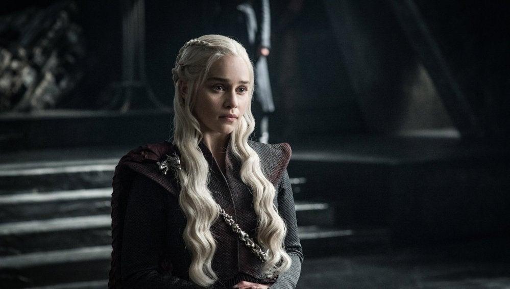 Daenerys Targaryen (Emilia Clarke) en 'Juego de Tronos'