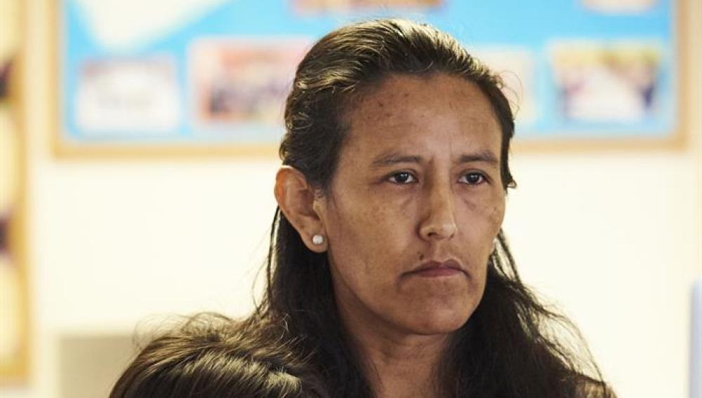 La activista mexicana Jeanette Vizguerra