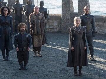 Tyrion Lannister y Daenerys Targaryen en una imagen de la séptima temporada