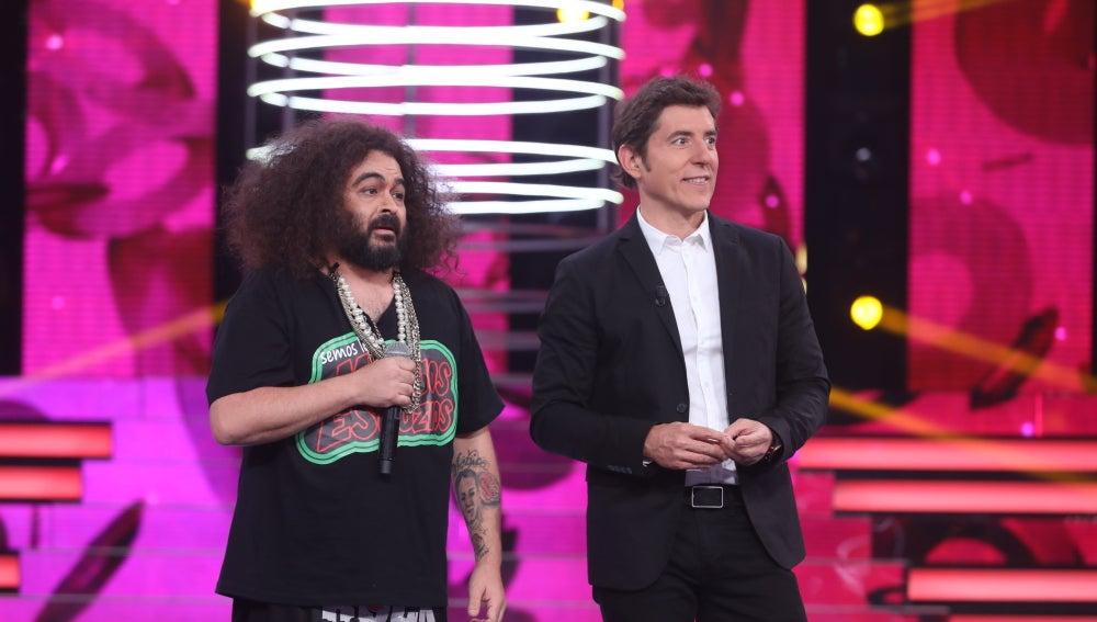 Juan López alborota y sorprende al jurado con su interpretación como El Sevilla
