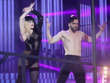 Georgia Stweart nos hace rozar la gloria como Lady Gaga con 'The Edge of Glory'