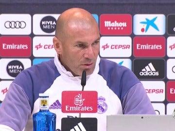"""Frame 91.000829 de: Zidane: """"Que no juegue Isco, estando como está, es complicado"""""""