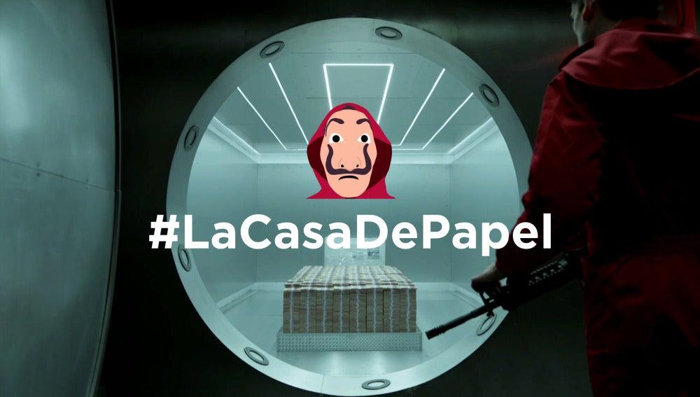 'La casa de papel' estrena emoticono en Twitter