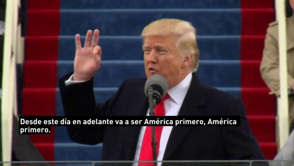 Frame 23.135087 de: Trump, un populista en la Casa Blanca desde su primer discurso