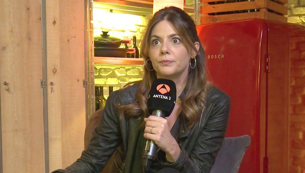 Los nervios invaden a Manuela Velasco