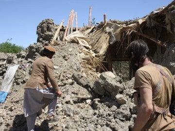 Afganistán tras la bomba no nuclear lanzada por EEUU