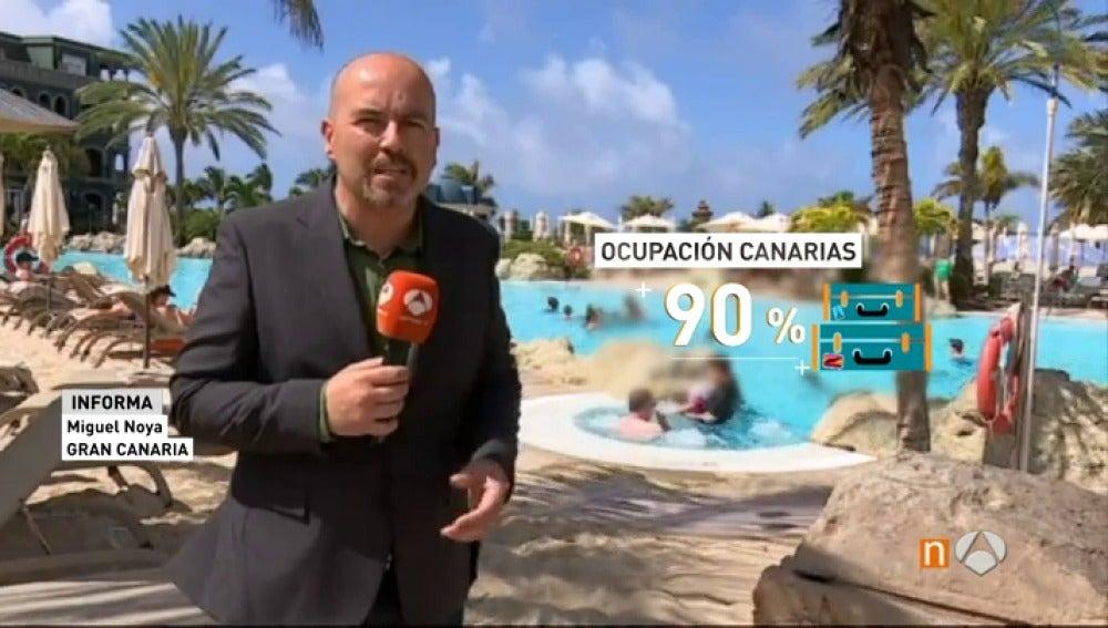 La ocupación turística prevista para el puente de mayo en Canarias roza el 90%