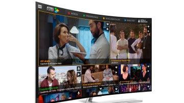 ATRESPLAYER lanza su nueva App para la versión Tizen de Samsung Smart TV
