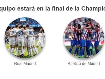 ¿Qué equipo llegará a la final de Champions?