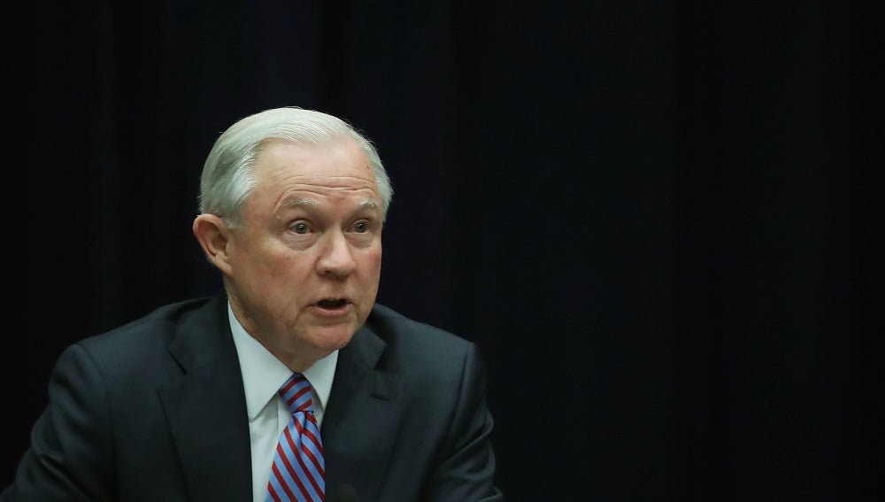 El fiscal general de EEUU, Jeff Sessions