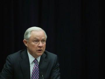 El fiscal general de EEUU, Jeff Sessions