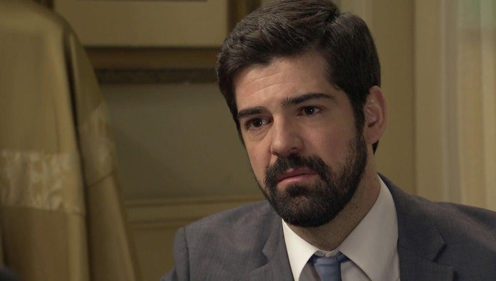 """Alonso al padre Argimiro: """"Tiene que ayudarme a recuperar a mi mujer"""""""