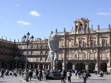 Una de las esculturas del artista balear Miquel Barceló