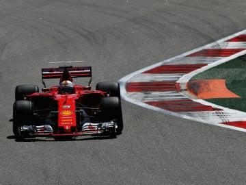 Vettel, en Rusia