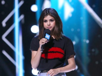 Selena Gomez durante el We Day