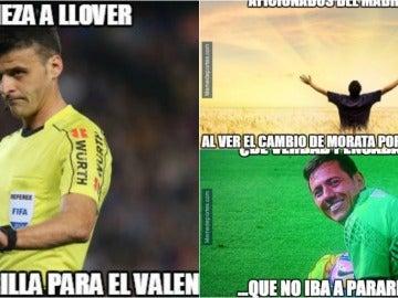 Los 'memes' del Madrid-Valencia