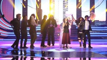 Paula Domínguez gana la séptima gala de 'Tu cara no me suena todavía' super