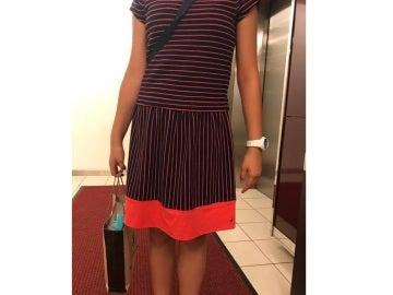 El vestido que llevaba la niña