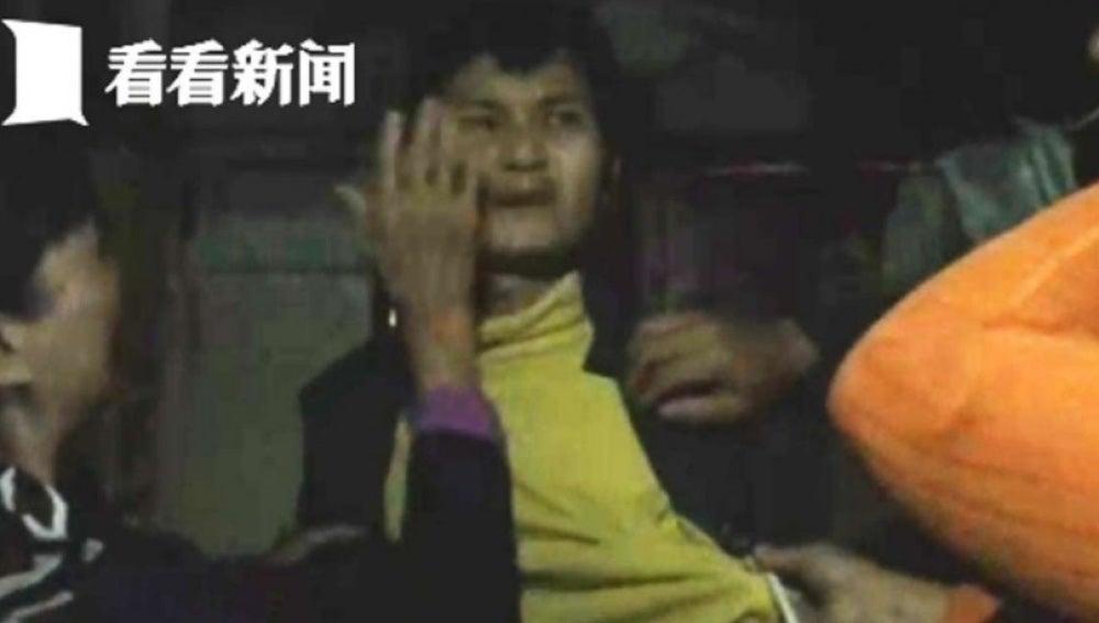 El chino encerrado por sus padres