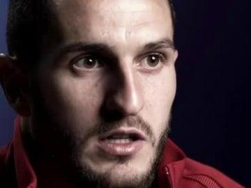 Koke, jugador del Atlético