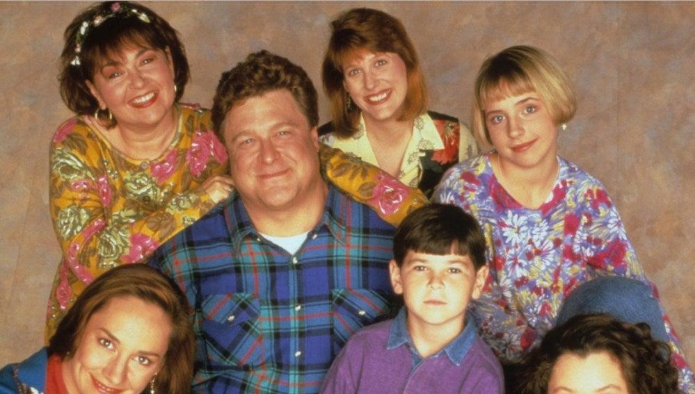 Los protagonistas de 'Roseanne'