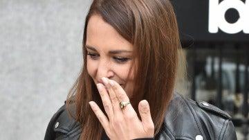Paula Echevarría vuelve a lucir su anillo de casada